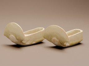 Miniature pair of slippers